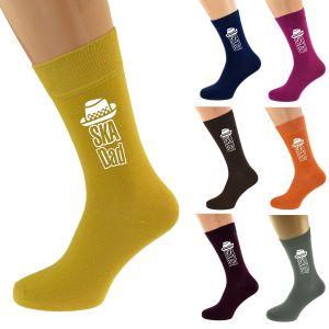 Ska Dad Hat Design Socks in Multiple Colours