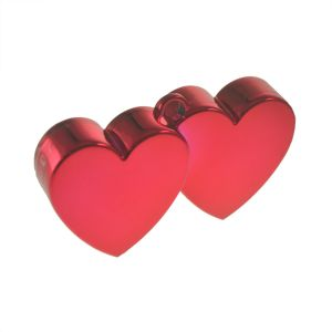 Value Saver Red Double Heart Balloon Weight