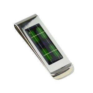 Scottish MacDonald Tartan Design Money Clip